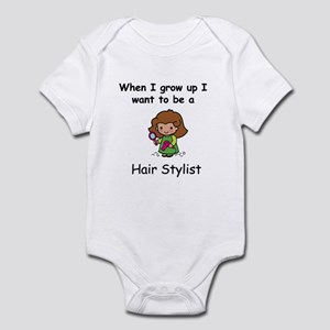 Hair Stylist Infant Bodysuit
