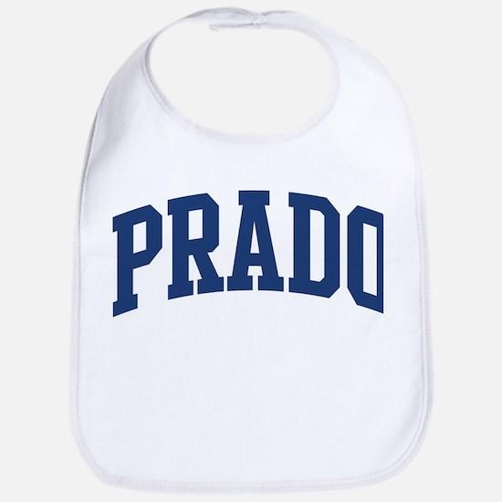 PRADO design (blue) Bib