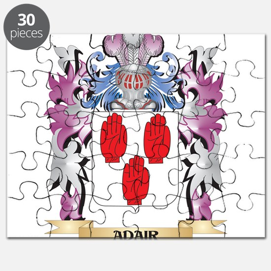 Adair Coat of Arms (Family Crest) Puzzle