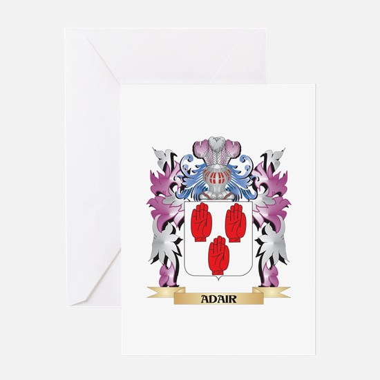 Adair Coat of Arms (Family Crest) Greeting Cards