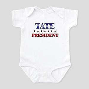 TATE for president Infant Bodysuit