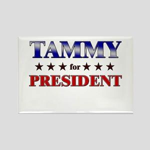 TAMMY for president Rectangle Magnet