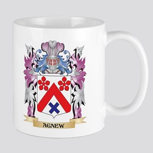Agnew Coat of Arms (Family Crest) Mugs