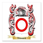 Vitousek Square Car Magnet 3
