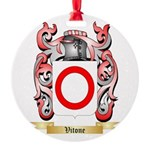 Vitone Round Ornament
