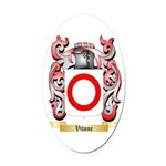 Vitone Oval Car Magnet