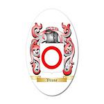 Vitone 35x21 Oval Wall Decal