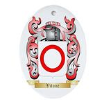 Vitone Oval Ornament