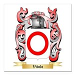 Vitolo Square Car Magnet 3