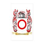 Vitkovsky Sticker (Rectangle 50 pk)