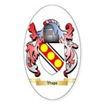 Vispo Sticker (Oval 50 pk)