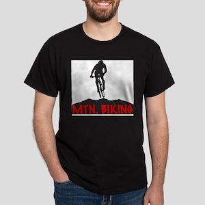 Mountain Biking Ash Grey T-Shirt