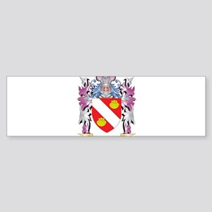 Aguirre Coat of Arms (Family Crest) Bumper Sticker