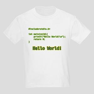 Hello World Kids Light T-Shirt