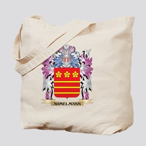 Ahmelmann Coat of Arms (Family Crest) Tote Bag