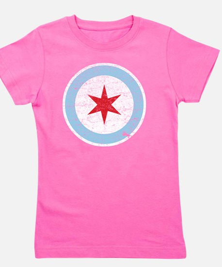 Cute Vintage chicago Girl's Tee