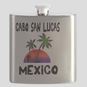 Cabo San Lucas Mexico Flask