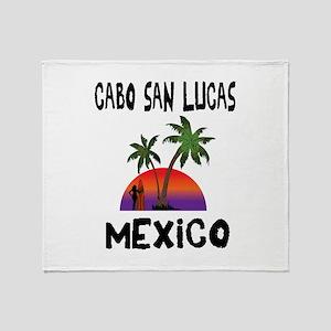 Cabo San Lucas Mexico Throw Blanket