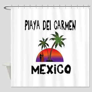Playa Del Carmen Mexico Shower Curtain