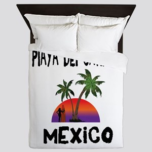 Playa Del Carmen Mexico Queen Duvet