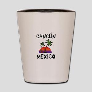 Cancun Mexico Shot Glass