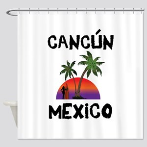 Cancun Mexico Shower Curtain