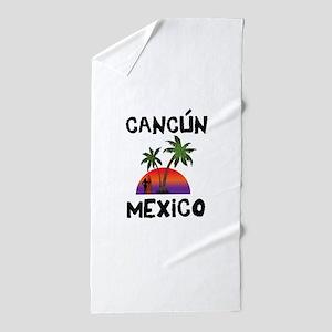 Cancun Mexico Beach Towel