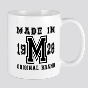 Made In 1928 Original Brand Birt 11 oz Ceramic Mug