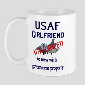 USAF Girlfriend Authorized Mug