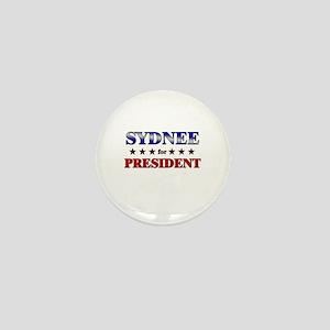 SYDNEE for president Mini Button
