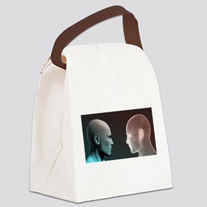 Digital Identity and Transfer of Canvas Lunch Bag