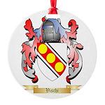 Vischi Round Ornament