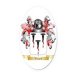 Visart Oval Car Magnet
