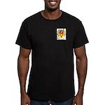 Vis Men's Fitted T-Shirt (dark)