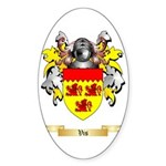 Vis Sticker (Oval 50 pk)