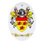 Vis Oval Ornament