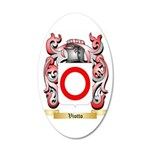 Viotto 35x21 Oval Wall Decal