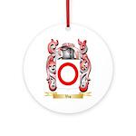 Vio Round Ornament