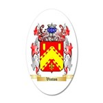 Vinton 20x12 Oval Wall Decal