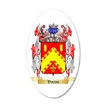 Vinton 35x21 Oval Wall Decal