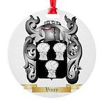 Viney Round Ornament