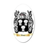 Viney 20x12 Oval Wall Decal