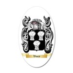 Viney 35x21 Oval Wall Decal