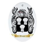 Viney Oval Ornament