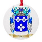 Vince Round Ornament