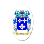 Vince 20x12 Oval Wall Decal