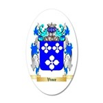 Vince 35x21 Oval Wall Decal
