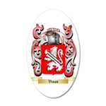 Vinas 20x12 Oval Wall Decal