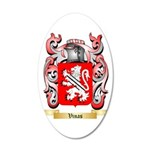 Vinas 35x21 Oval Wall Decal
