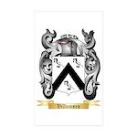 Villumsen Sticker (Rectangle 50 pk)